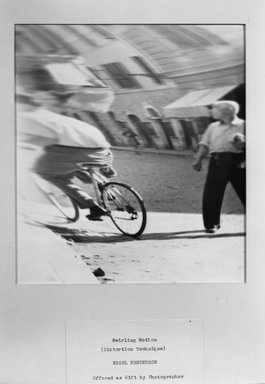 Nigel Henderson (American, 1917-1985). Swirling Motion (Distortion Technique), 1951. Gelatin silver photograph, 10 x 8 in. Brooklyn Museum, Gift of the artist, 52.69.2. © Estate of Nigel Henderson