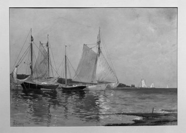 Brooklyn Museum: Fishing Boats
