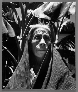 Fritz Henle (American, 1909-1993). Aged Mexican Woman. Photograph Brooklyn Museum, Gift of the artist, 53.13.5. © Estate of Fritz Henle