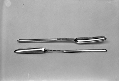 Hester Bateman (English, active in London, 1774-1789). Marrow Spoon, 1786. Silver Brooklyn Museum, Gift of Mr. and Mrs. Louis Holland in memory of Simon Holland, 53.153 a. Creative Commons-BY