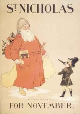 St. Nicholas Poster, ca. 1895. Lithograph on paper, Sheet: 20 15/16 x 14 9/16 in. (53.2 x 37 cm). Brooklyn Museum, Dick S. Ramsay Fund, 53.167.21