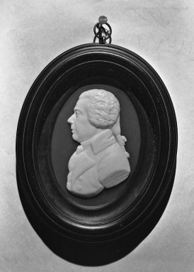 James Tassie (Scottish, 1735-1799). Portrait Medallion, 1799. Glass, Medallion: 3 3/4 x 2 1/2 in. (9.5 x 6.4 cm). Brooklyn Museum, Gift of Emily Winthrop Miles, 53.264.46. Creative Commons-BY