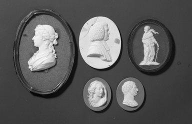 Portrait Medallion. Jasperware Brooklyn Museum, Gift of Emily Winthrop Miles, 57.180.68. Creative Commons-BY