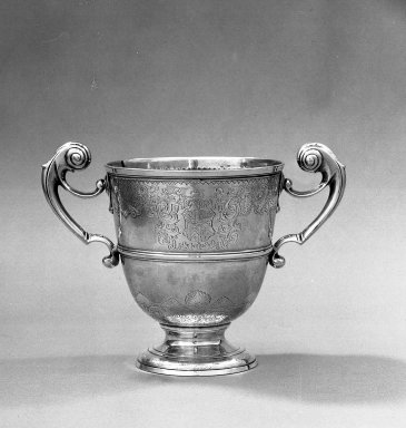 Loving Cup, 1733-1734. Silver Brooklyn Museum, Bequest of Mrs. Francis Noble, 53.45. Creative Commons-BY
