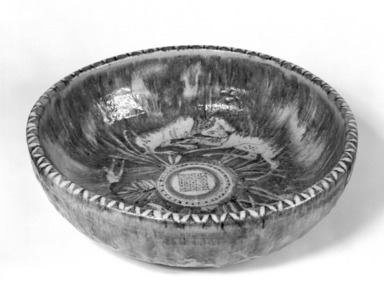 Guido Gambone. Large Bowl, 20th century. Ceramic, 5 1/4 x 17 in. (13.3 x 43.2 cm). Brooklyn Museum, Gift of the Italian Government, 54.64.24. Creative Commons-BY