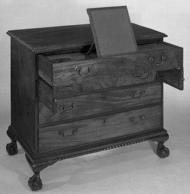 American. Chest. Mahogany Brooklyn Museum, Dick S. Ramsay Fund, 55.225. Creative Commons-BY