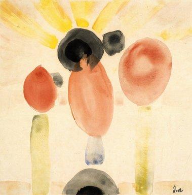 Arthur G. Dove (American, 1880-1946). Dawn III, 1932. Watercolor Brooklyn Museum, Dick S. Ramsay Fund, 55.22. © Estate of Arthur G. Dove