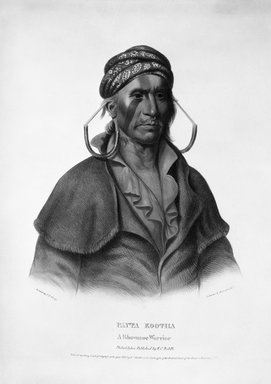 Peter Duval. Payta Kootha, 1836. Hand-colored lithograph on paper Brooklyn Museum, Gift of Elizabeth Crawford in memory of M. D. C. Crawford, 55.239.2