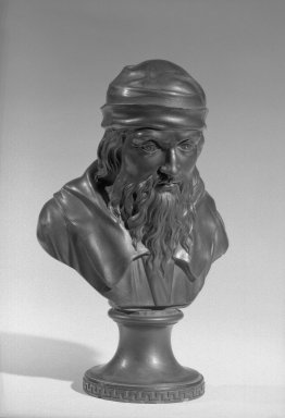 Brooklyn Museum: Bust on Plinth