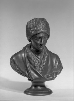 Wedgwood & Bentley (1759-present). Portrait Bust. Basaltes Brooklyn Museum, Gift of Emily Winthrop Miles, 55.25.18. Creative Commons-BY