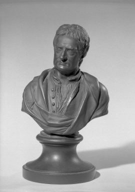 Wedgwood & Bentley (1759-present). Bust of Sir Isaac Newton. Basaltes Brooklyn Museum, Gift of Emily Winthrop Miles, 55.25.19. Creative Commons-BY