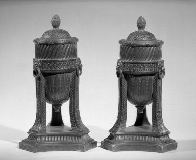 Pair Cossolettes, ca. 1775. Brooklyn Museum, Gift of Emily Winthrop Miles, 55.25.2a-b. Creative Commons-BY
