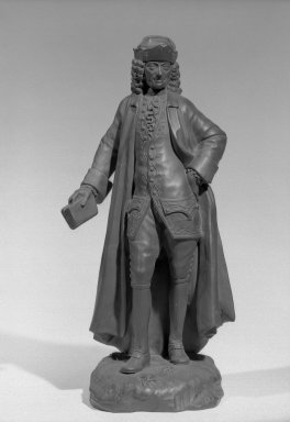 Wedgwood (1759-present). Full Figure Statuette. Basaltes Brooklyn Museum, Gift of Emily Winthrop Miles, 55.25.6. Creative Commons-BY