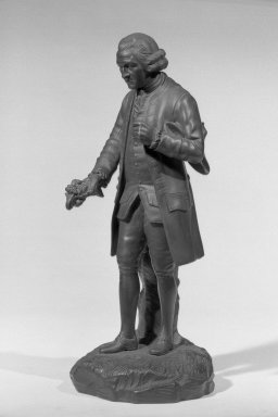 Josiah Wedgwood & Sons Ltd. (founded 1759). Full Figure Statuette, ca.1780. Basalt Brooklyn Museum, Gift of Emily Winthrop Miles, 55.25.7. Creative Commons-BY
