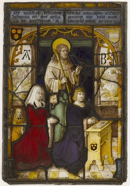 Flemish. Stained Glass, 16th century. Glass, Frame: 33 x 24 in. (83.8 x 61 cm). Brooklyn Museum, Gift of Mr. and Mrs. Walter Rothschild, 55.84.2. Creative Commons-BY