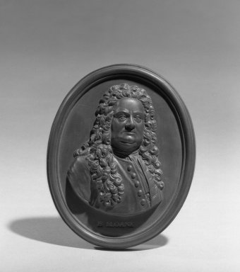 Wedgwood & Bentley (1759-present). Portrait Medallion, 1778. Basaltes, 4 x 3 1/4 in. (10.2 x 8.3 cm). Brooklyn Museum, Gift of Emily Winthrop Miles, 55.9.6. Creative Commons-BY