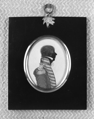 Buncombe. Silhouette of Half-Length of Officer. Brooklyn Museum, Gift of Emily Winthrop Miles, 56.192.14