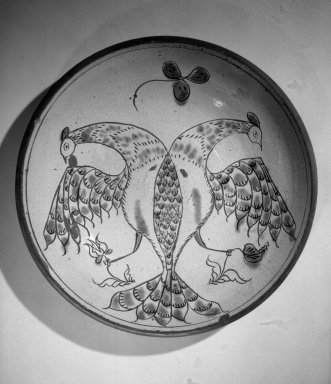 American. Pie Plate, early 19th century. Earthenware, 1 7/8 x 11 3/4 in. (4.8 x 29.8 cm). Brooklyn Museum, Gift of Huldah Cail Lorimer in memory of George Burford Lorimer, 56.5.13. Creative Commons-BY