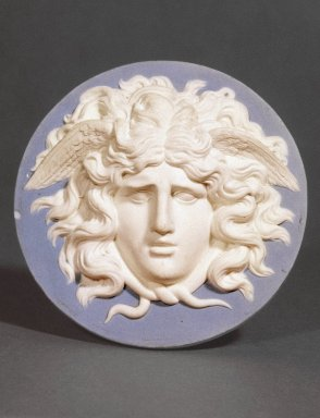 Medallion. Jasperware, bas relief Brooklyn Museum, Gift of Emily Winthrop Miles, 57.180.78. Creative Commons-BY