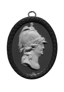 Oval Portrait Medallion, ca. 1790. Jasperware Brooklyn Museum, Gift of Emily Winthrop Miles, 57.180.82. Creative Commons-BY