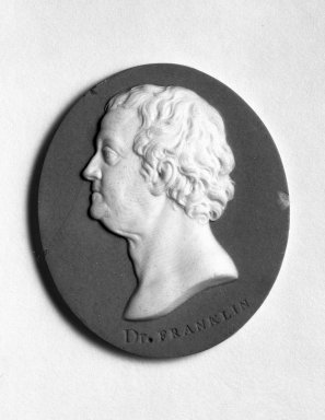 Portrait Medallion, ca. 1775-1780. Jasperware, 2 1/4 x 1 7/8 in. Brooklyn Museum, Gift of Emily Winthrop Miles, 57.180.89. Creative Commons-BY