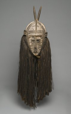 Bobo. Bolo Mask, early 20th cenutry. Wood, pigment, fiber, 45 1/2 x 14 x 13 in. (115.6 x 35.6 x 33 cm). Brooklyn Museum, Gift of Mr. and Mrs. Gustave Schindler, 58.184. Creative Commons-BY