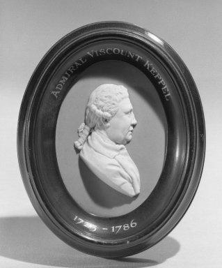 Wedgwood (1759-present). Portrait Medallion. Jasperware, hardwood Brooklyn Museum, Gift of Emily Winthrop Miles, 58.194.36. Creative Commons-BY
