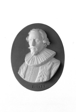 Wedgwood (1759-present). Portrait Medallion, ca. 1785. Jasperware Brooklyn Museum, Gift of Emily Winthrop Miles, 58.194.47. Creative Commons-BY