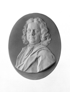 Wedgwood (founded 1759). Portrait Medallion, ca. 1785. Jasperware, brass Brooklyn Museum, Gift of Emily Winthrop Miles, 58.194.54. Creative Commons-BY