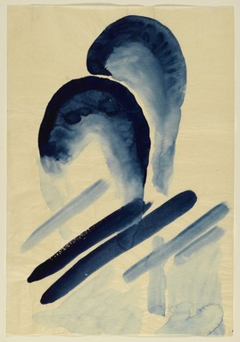 Brooklyn Museum: Blue #3