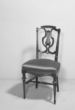 American. Side Chair, ca. 1870. Wood, H: 35 in. (88.9 cm). Brooklyn Museum, Gift of Mrs. Alfred Zoebisch, 59.143.28. Creative Commons-BY