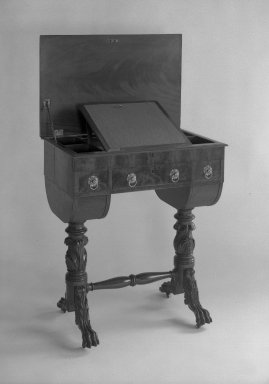 American. Desk, ca. 1810. Rosewood Brooklyn Museum, Gift of Mrs. Alfred Zoebisch, 59.143.32. Creative Commons-BY