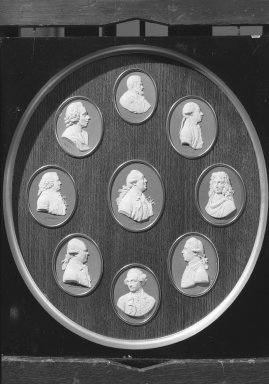 Wedgwood & Bentley (1759-present). Portrait Medallion of Dr. Daniel Charles Solander. White on blue jasperware Brooklyn Museum, Gift of Emily Winthrop Miles, 59.202.17i. Creative Commons-BY