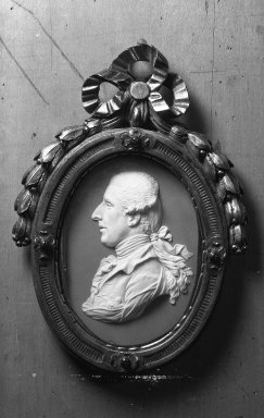 Wedgwood (1759-present). Portrait Medallion of Sir William Hamilton. White on lilac jasperware Brooklyn Museum, Gift of Emily Winthrop Miles, 59.202.8. Creative Commons-BY