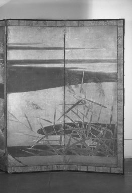 Brooklyn Museum: Drying Fishnets in the Four Seasons