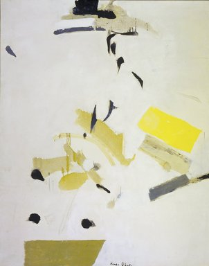Okada Kenzo (Japanese, 1902-1982). Flower Study, 1958. Oil on canvas, 51 7/8 x 41 1/8 in. (131.7 x 104.4 cm). Brooklyn Museum, Gift of Joseph Cantor, 59.87. © Estate of Kenzo Okada