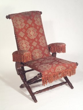 Brooklyn Museum: Reclining Armchair