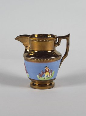 Creamer, ca. 1820. Copper, 4 13/16 in. (12.2 cm). Brooklyn Museum, Gift of Florence Stone Harder, 60.134.17. Creative Commons-BY