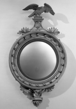 Mirror. Glass with gesso frame Brooklyn Museum, Gift of Mrs. Cheever Porter, 60.136.1. Creative Commons-BY