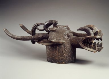 Brooklyn Museum: Mask (Wabele or Wo)