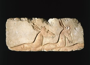 Brooklyn Museum: Relief of Antelopes
