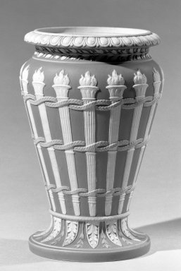 Wedgwood (1759-present). Bridal Vase, ca. 1785-1795. Stoneware, 7 x 4 1/4 in. (17.8 x 10.8 cm). Brooklyn Museum, Gift of Emily Winthrop Miles, 60.198.21. Creative Commons-BY