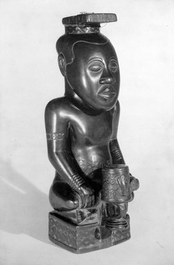 Brooklyn Museum: Ndop Portrait of King Mishe miShyaang maMbul