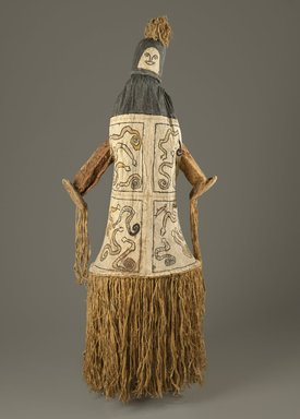 Pamí'wa, also known as Cubeo. Dance Mask (Takü), 20th century. Bark cloth, wood, pigments, 69 x 24 x 22 1/2 in. (175.3 x 61 x 57.2 cm). Brooklyn Museum, Frank L. Babbott Fund, 61.34.2. Creative Commons-BY
