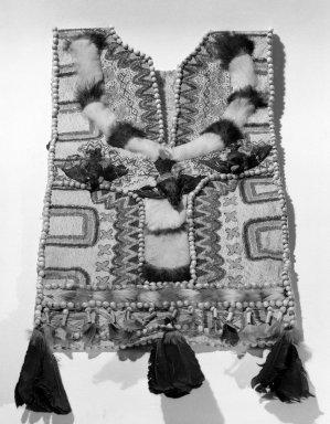 Jivaro Poncho. Bark cloth Brooklyn Museum, Caroline A.L. Pratt Fund, 61.35. Creative Commons-BY