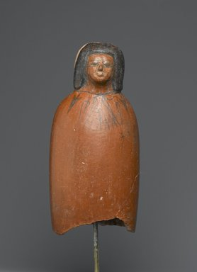Female Ancestral Bust, ca. 1539-1190 B.C.E. Pottery, painted, 6 5/16 x 3 x 2 5/16 in. (16 x 7.6 x 5.8 cm). Brooklyn Museum, Charles Edwin Wilbour Fund, 61.49. Creative Commons-BY