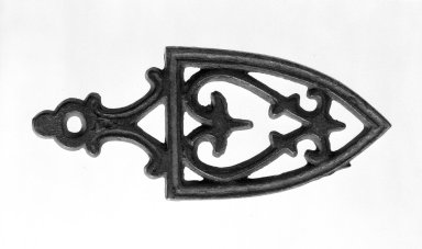 American. Miniature Trivet. Iron, 3 7/8 in. (9.8 cm). Brooklyn Museum, Gift of Mrs. Bergen Glover, 61.81.6. Creative Commons-BY
