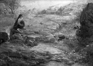 Frederic Edwin Church (American, 1826-1900). Tropical Scenery, 1873. Oil on canvas, 56 1/2 x 77 3/4 x 5 3/8 in., 128 lb. (143.5 x 197.5 x 13.7 cm, 58.06kg). Brooklyn Museum, Dick S. Ramsay Fund, 63.150