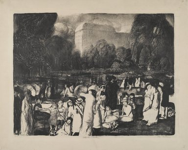 Brooklyn Museum: In the Park, Light