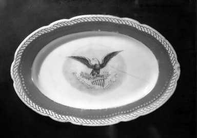 Brooklyn Museum: Oval Platter